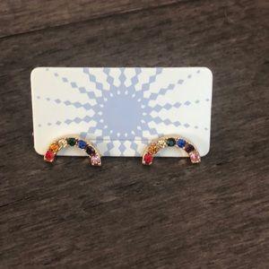 Modcloth upbeat rainbow earrings